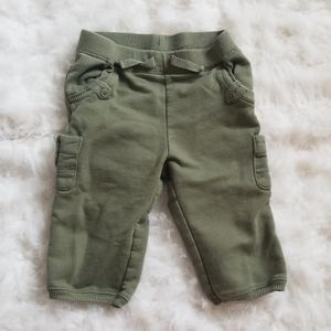 Hunter Green Cargo Pants
